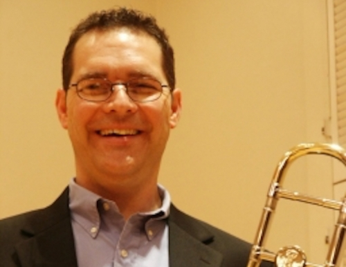 Chris Oberholtzer, director of jazz studies at USM