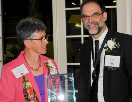 Patricia Thompson Leavitt honored by Maine Medical Association