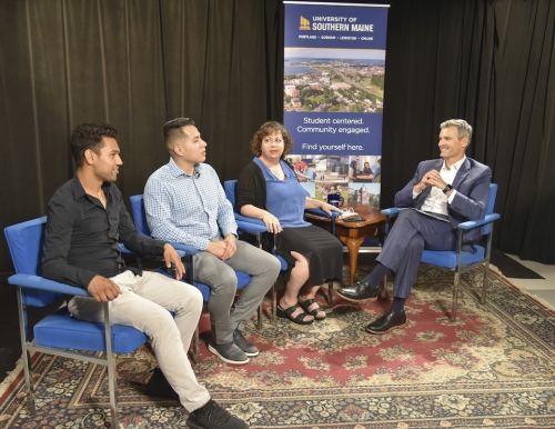 The USM Update taping October 2019