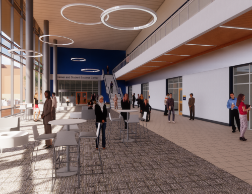 career and student success center rendering