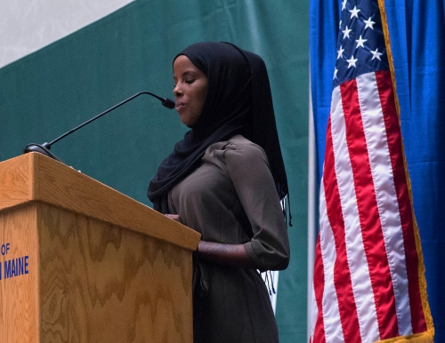 Hamdia Ahmed speaks at USM Opening Breakfast 2016