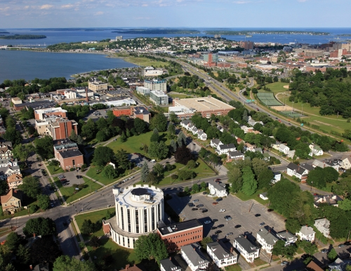 Photo of Maine Law and USM Campus