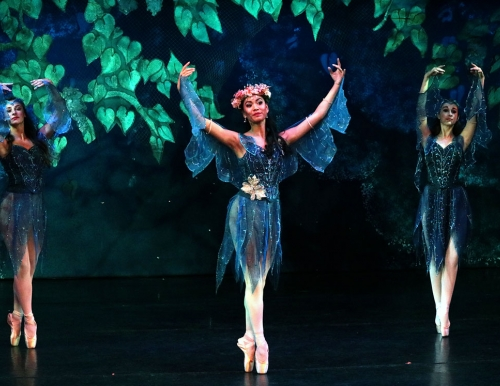 Kallee Gallant, USM student as Titania_Maine State Ballet