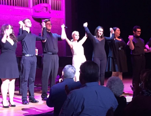 Kristin Chenoweth performs with USM musical theater students