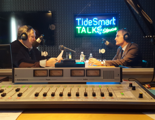 USM President Glenn Cummings on TideSmart Talk with Steve Woods.