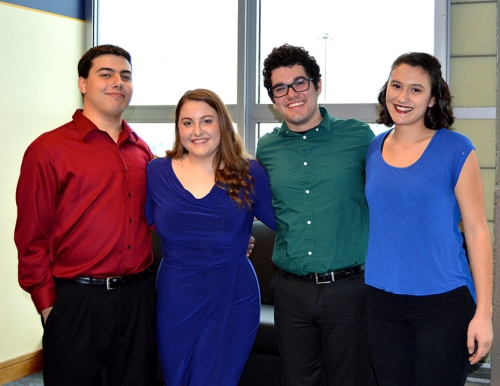 Musical Theater students from USM School of Music