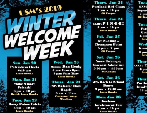 Week of Welcome poster