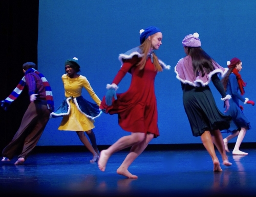 Students perform A Winter Idyll