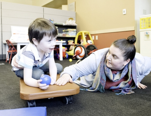 Photo by Sun Journal photographer Daryn Slover at community clinic