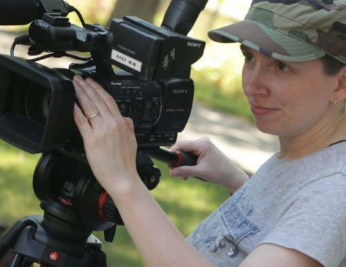 Image of USM alumna and filmmaker Vickie Morgan