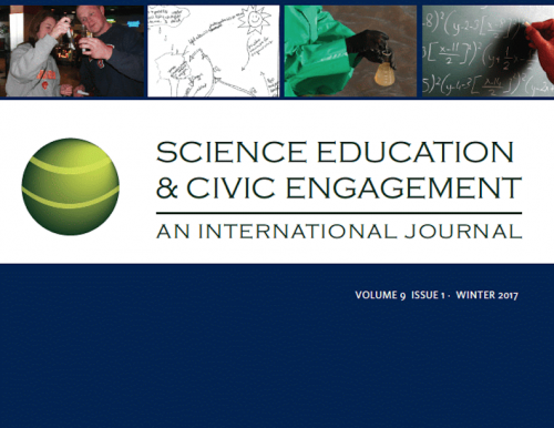 The winter 2017 issue of Science Education and Civic Engagement.