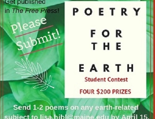 Poetry for the Earth - student contest | Russell Scholars Program