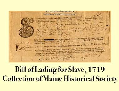Slave Bill of Lading