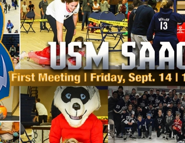 USM Student-Athlete Advisory Committee's First Meeting: September 14