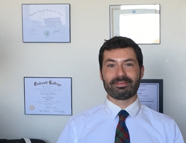 Alexander Katopis, Counselor Education faculty member and Field Placement Coordinator