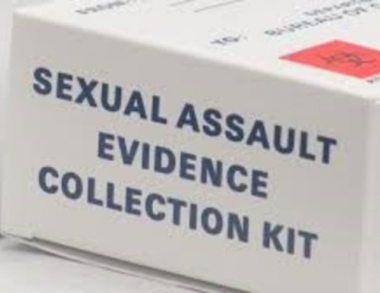 Sexual Assault Evidence Collection Kit Photo