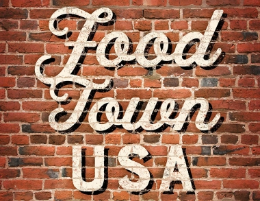 Food Town USA book cover