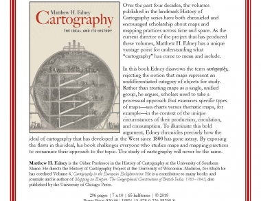 Cartography promo flyer image