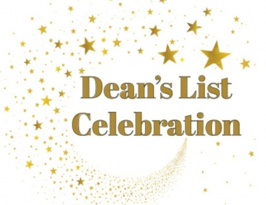 Dean's list with stars