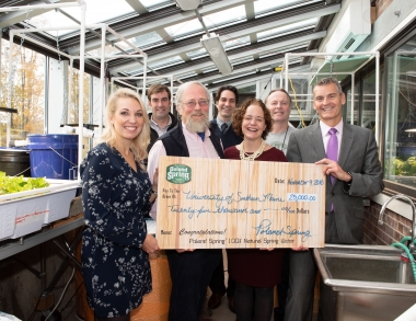 25k Poland Spring gift to USM Environmental Studies program