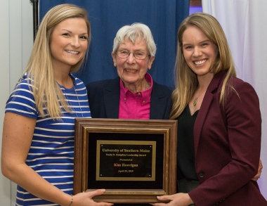 USM Athletic grads receive award