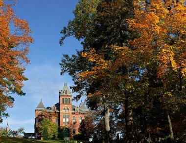 Fall at Corthell Hall