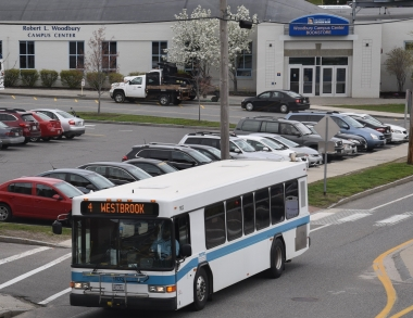 Image of parking on the Portland Campus