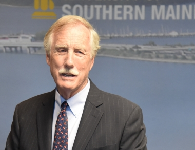 Photo of Maine Sen. Angus King