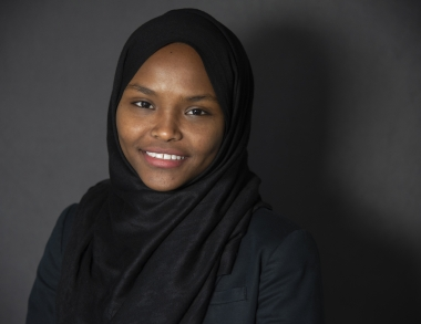 portrait of Safiya Khalid '18