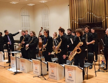 USM SoM jazz students