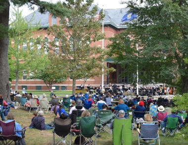 17th annual USM Outdoor Band Concert
