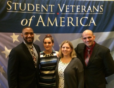 From L-R: Omar Andrews, Mary Swanson, Kelsey Earley, and Rudy Da Rocha.