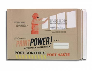 Print Power exchange poster