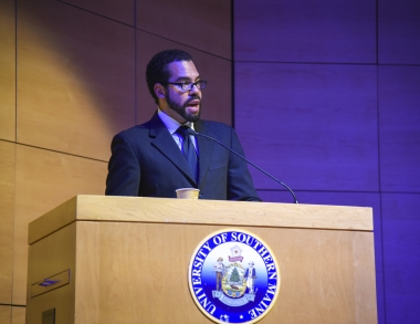 Brian Purnell at W. E. B. DuBois Lecture 2017