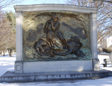Image of Maine WWI Monument in Kittery