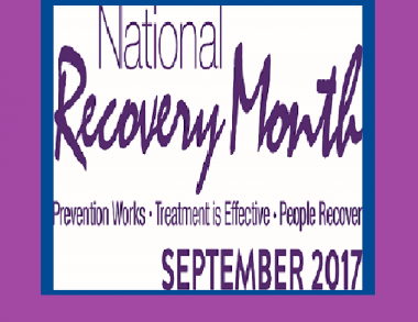 Recovery Month September 2017
