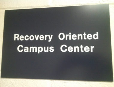 Recovery Oriented Campus Center