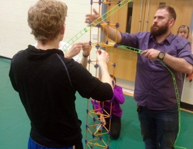 USM engineering students inspire elementary kids to reach beyond the sky