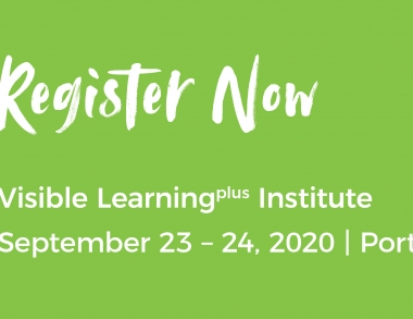 Professor John Hattie's only Fall 2020 US appearance at the Visible Learningplus Institute on September 23-24, 2020.