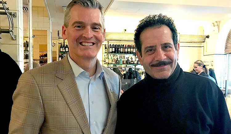 Glenn Cummings and Tony Shalhoub