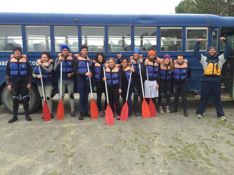 OAB White Water Rafting Trip