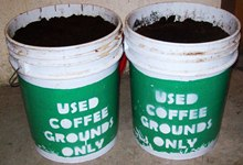 University of Southern Maine Coffee Ground Collection Program - 5 Gallon collection buckets