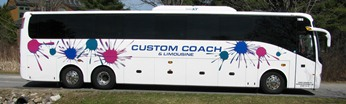 Custom Coach is the service provider for USM's intercampus shuttle and athletic team transportation