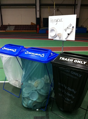 ClearStream Waste Collection Stations at USM's 2012 Opening Breakfast