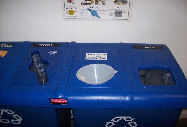 Waste Liquid Collection in a Waste station at USM