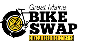 Bike Coalition of Maine Great Maine bike Swap Logo