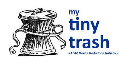 My Tiny Trash - A waste reduction initiative at the University of Southern Maine to reduce waste, increase recycling, and reduce costs.