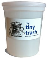 Tiny Trash Initiative at the University of Southern Maine gives each staffer a personal small trashcan and reduces waste, reduces labor, and reduces bag costs