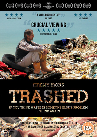 Trashed documentary DVD cover image