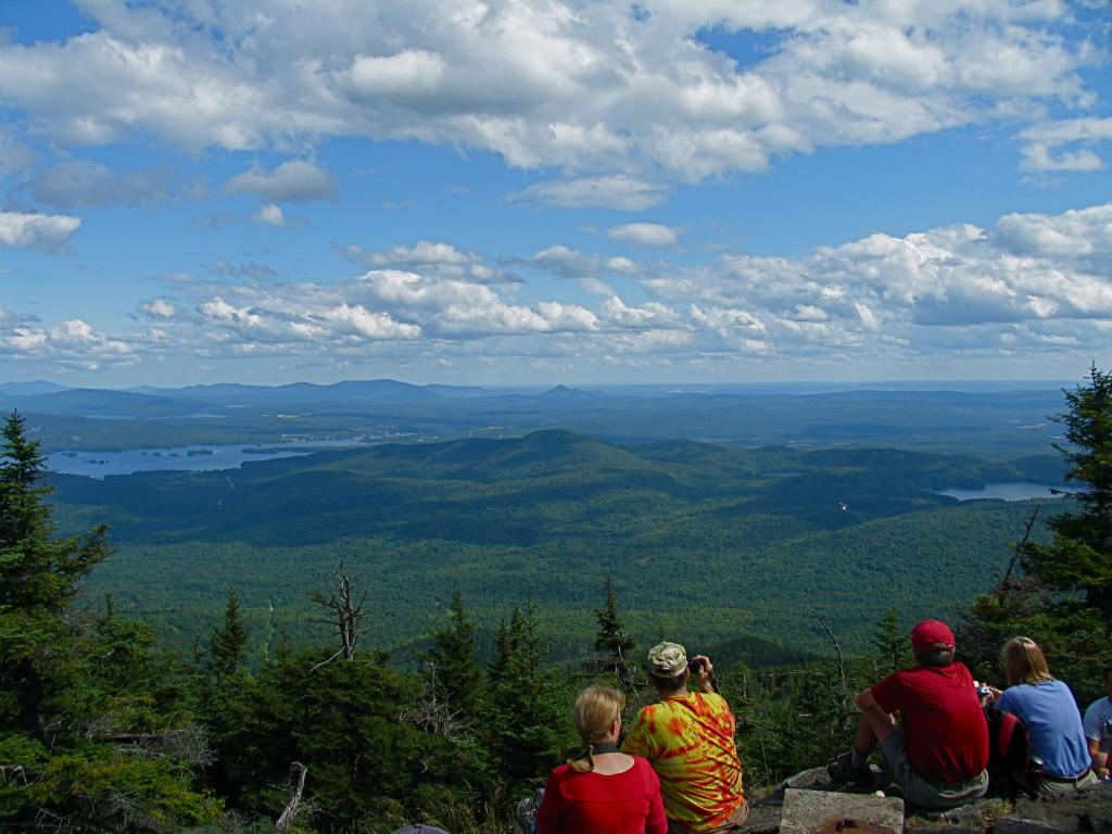 View from Big Moose Mountain